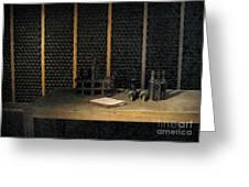 Port Wine Cellar Greeting Card