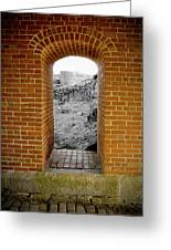Portal To The Past Greeting Card