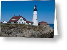 Portland Head Light Greeting Card