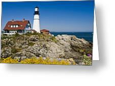 Portland Head Lighthouse Greeting Card