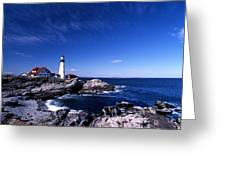 Portland Head Offshore Greeting Card