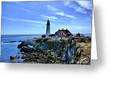 Portlandhead Light Greeting Card