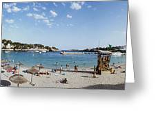 Porto Cristo Beach Greeting Card