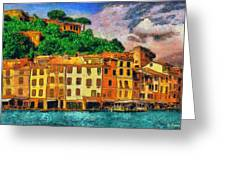Portofino II Greeting Card