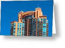 Portofino Tower At Miami Beach Greeting Card