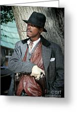 Portrait Of Kurupt Greeting Card