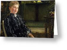Portrait Of Mrs Ralph Sneyd Greeting Card