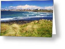 Portrush, Co Antrim, Ireland Seaside Greeting Card