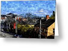 Portsmouth Nh North End Pnewc Greeting Card