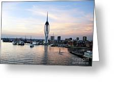 Portsmouth Waterfront Greeting Card