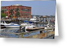 Portsmouth Waterfront Pwp Greeting Card