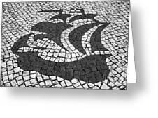 Portuguese Caravel Greeting Card