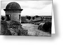 Portuguese Fortress Greeting Card