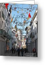 Portuguese Street Greeting Card
