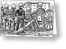 Posada: The Artillerymen Greeting Card