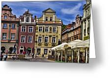 Posnan Shops - Poland Greeting Card