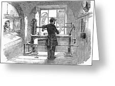 Post Office, 1856 Greeting Card