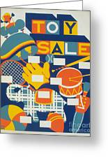 Poster: Toys, C1940 Greeting Card