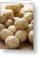 Potatoes Greeting Card by Elena Elisseeva