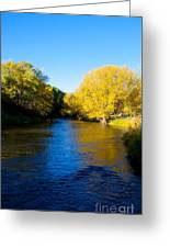 Poudre River Greeting Card