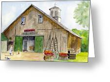 Poverty Farms Orchard Greeting Card