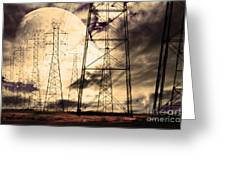 Power Grid Greeting Card