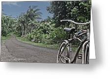 Power House Road Kauai Hawaii Greeting Card