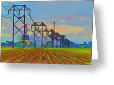 Power Plant Photo Art Greeting Card