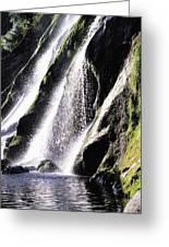 Powerscourt Waterfall, Co Wicklow Greeting Card