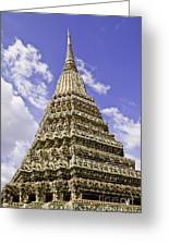 Pra-chetupon Temple Bangkok Thailand Greeting Card