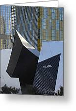 Prada Las Vegas Abstract Greeting Card