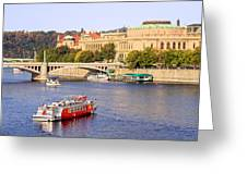 Prague Cityscape Greeting Card