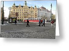 Prague Czech Republic Greeting Card