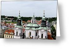 Prague Panorama Greeting Card