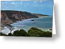 Praia De Tambaba - Paraiba Greeting Card