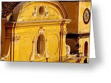 Praiano Church Greeting Card