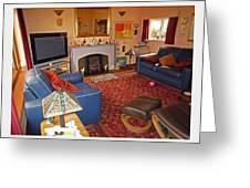 Prairie House Interior Greeting Card