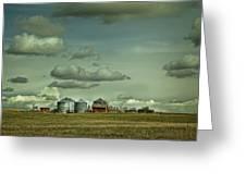 Prairie Life Style Greeting Card