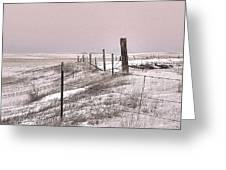 Prairie Puzzle Greeting Card