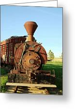 Prairie Train Greeting Card