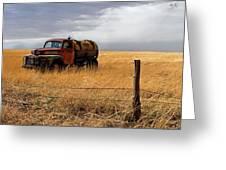 Prarie Truck Greeting Card