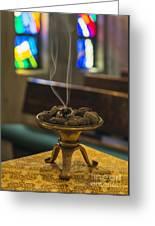 Prayers Rise Like Incense Greeting Card