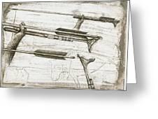 Prehistoric Spear-thrower Greeting Card