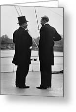 President Roosevelt And Gifford Pinchot Greeting Card