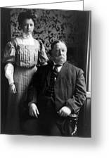 President William Howard Taft With Daughter Greeting Card by International  Images