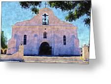 Presido Chapel San Elizario Texas Greeting Card