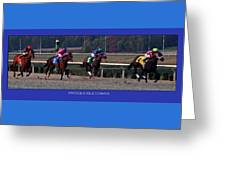 Presque Isle Downs Greeting Card