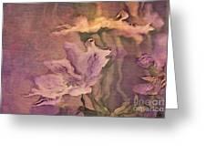 Pretty Bouquet - A04t4b Greeting Card