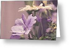 Pretty Bouquet - A05t01 Greeting Card