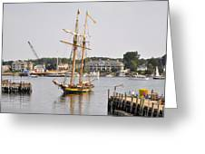 Pride Of Baltimore II Pb2p Greeting Card